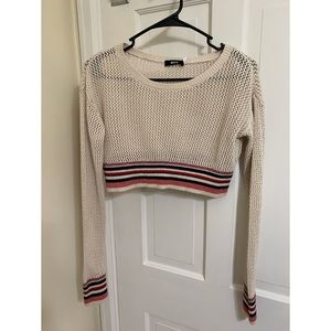 Open Knit BDG / Urban Outfitters Cropped Sweater